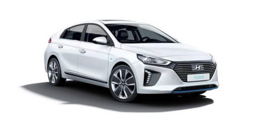 Hyundai IONIQ Hybrid dla taksówkarzy