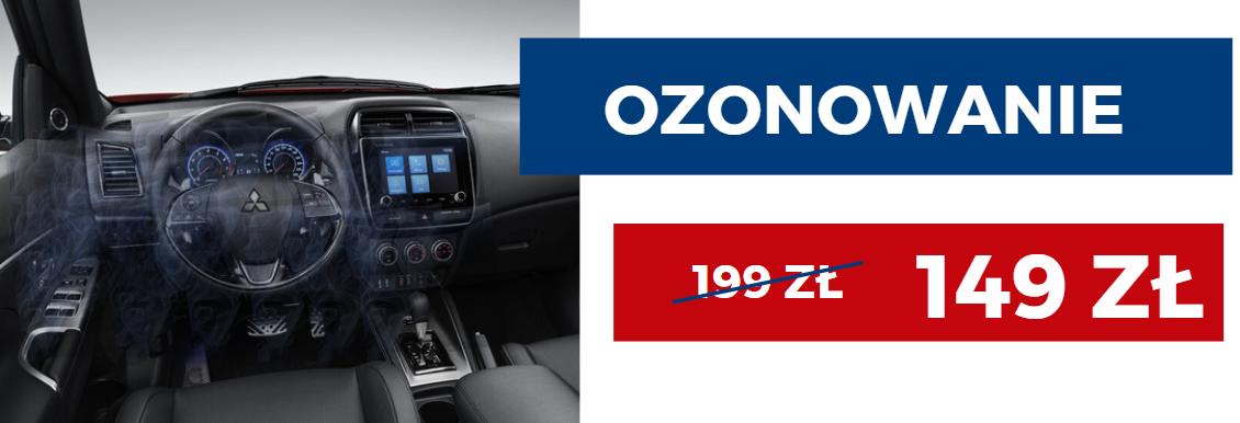 Ozonowanie i odgrzybianie samochodu w Warszawie